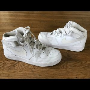 buy online aff1c e4494 Nike Mens Air Force 1 high top Sneakers Size 13
